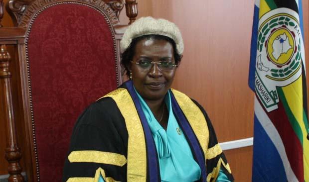 EALA Speaker Margret Zziwa