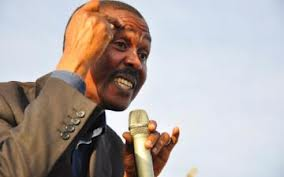 FDC leader Major Gen Mugisha Muntu