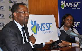 NSSF boss Richard Byarugaba