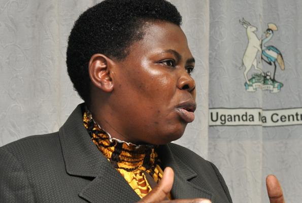 NRM treasurer Rose Namyanja