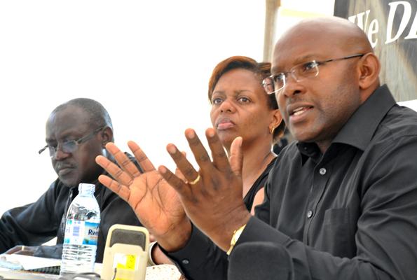 Richard Sewakiryanga and other members of the civil society
