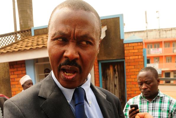FDC President Maj. Gen. Mugisha Muntu