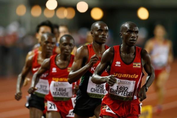 Joshua Cheptegei wins Gold