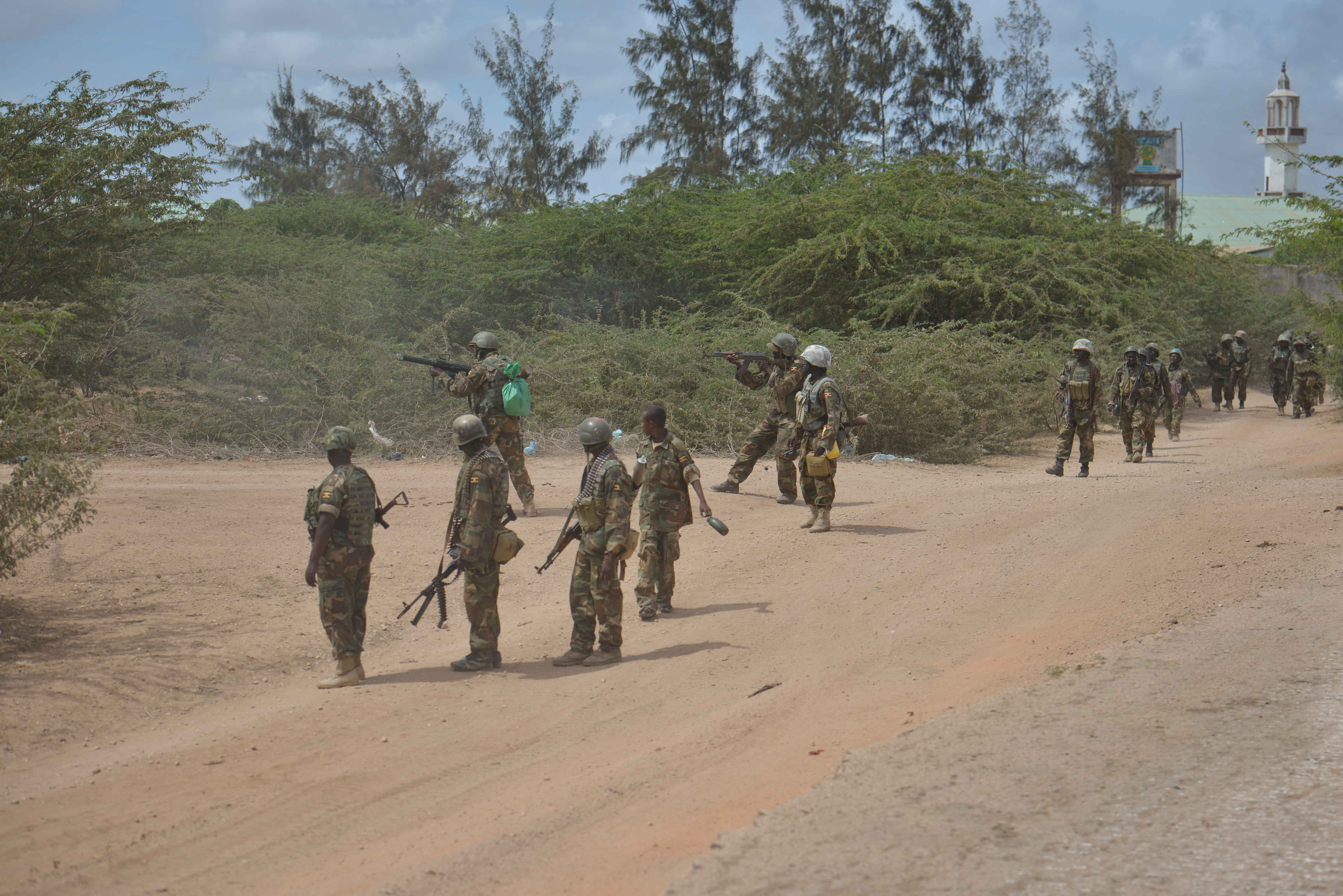 Amisom in offensive