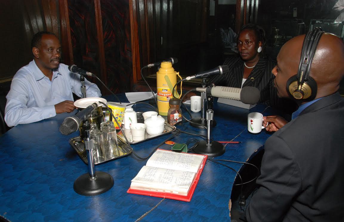 Dr. Richard Sezibera at KFM