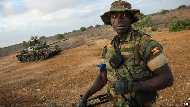 South Sudan Uganda forces