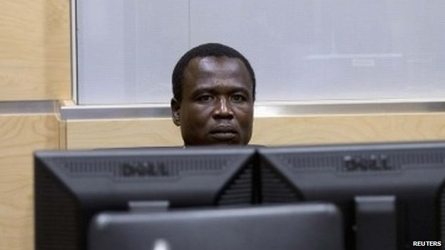 LRA Commander Dominic Ongwen at The Hague-based ICC