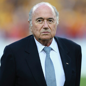 FIFA's Sepp Blatter