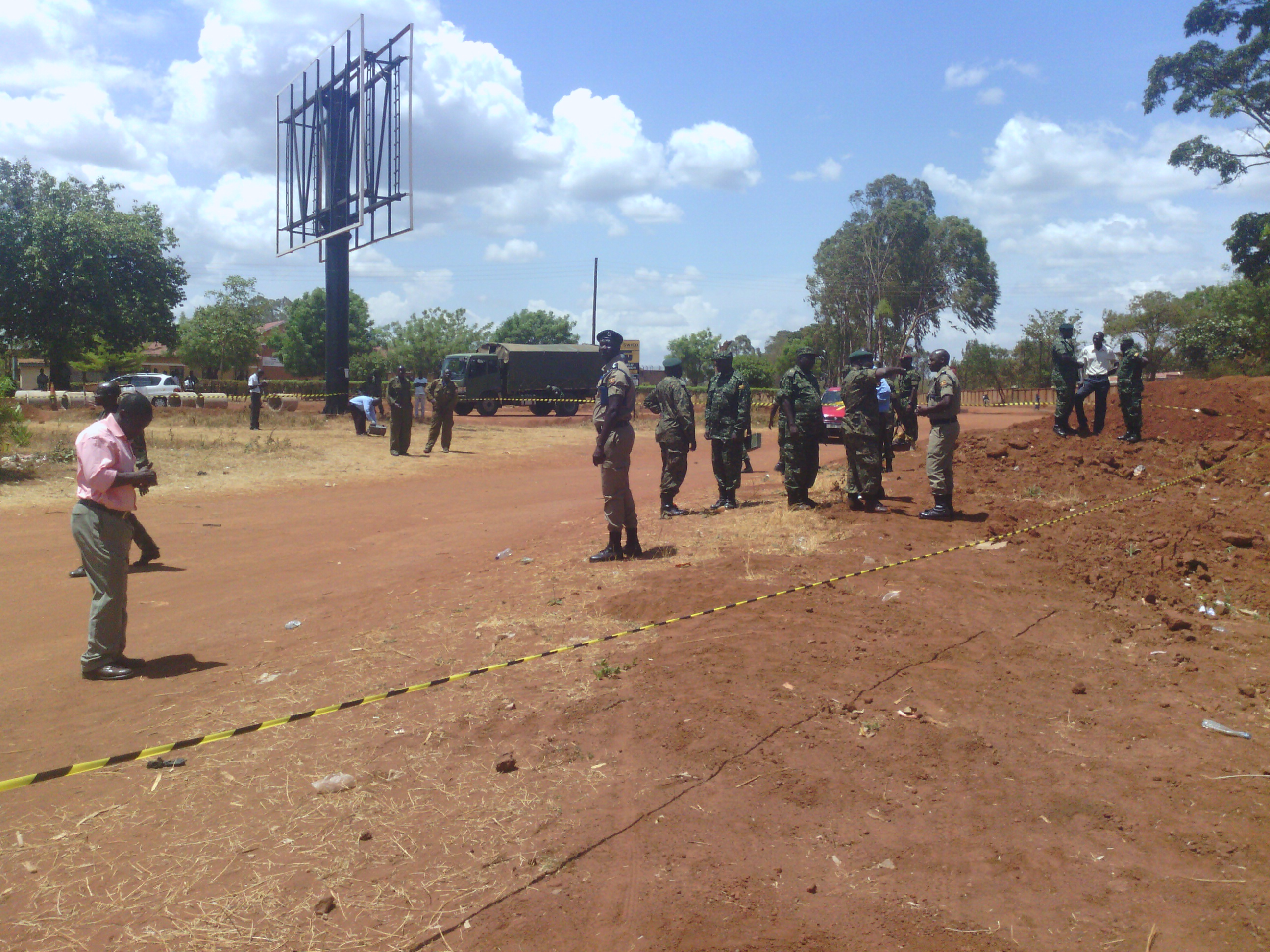 Suspected bomb blast in Gulu