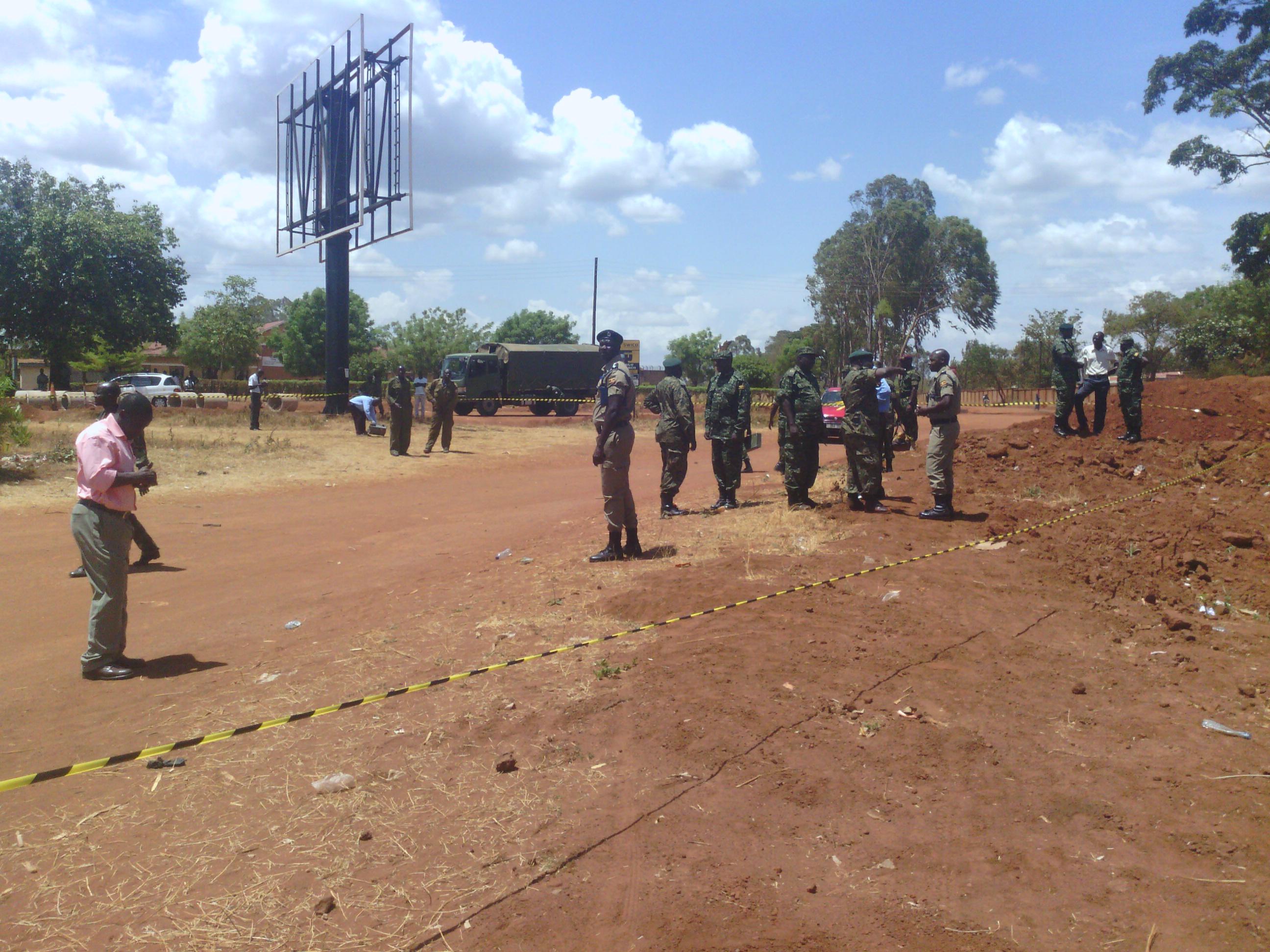 Suspected bomb blast in Gulu