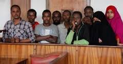 Terror suspects in court (Courtesy Daily Monitor)