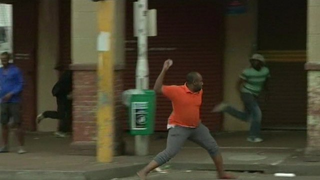 South African violence