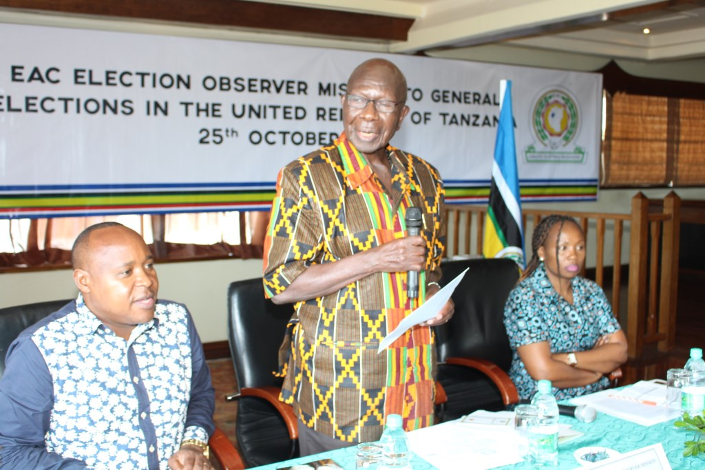 Moody Awori launches EAC Election Observer Mission