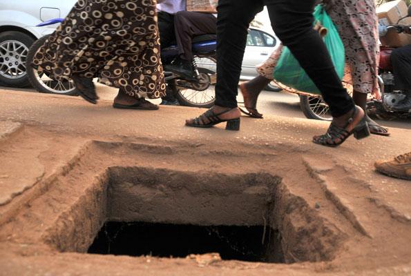 manholes in kampala