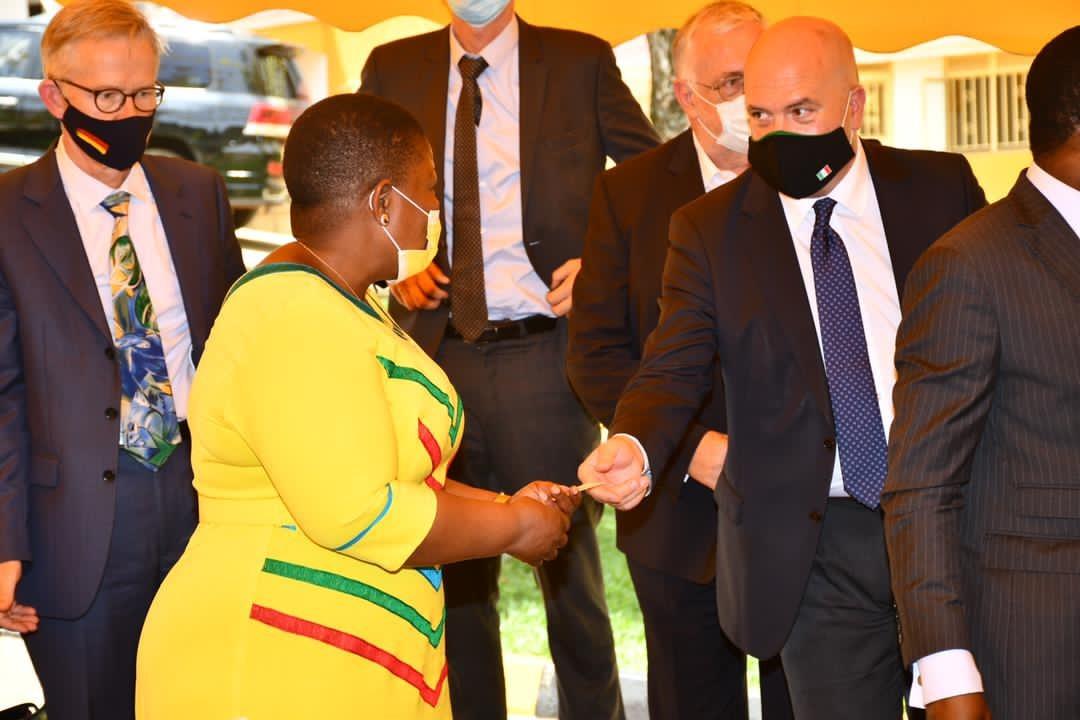 EU delegation meets NRM secretariat