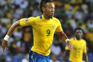 Striker Aubameyang is having a good tournament for host nation Gabon. AFP PHOTO